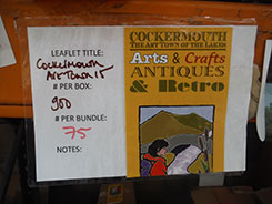 Leaflet Cockermouth Arts & Crafts