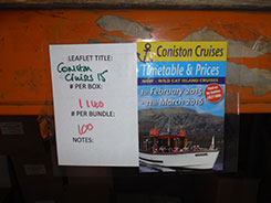 Leaflet Coniston Cruises